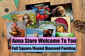 "<b>Full</b> Square/<b>Round Drill</b> 5D DIY Diamond Painting ""Cartoon ..."