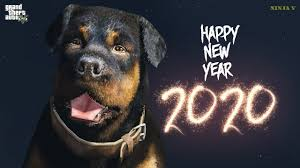 <b>GTA V</b> - Happy <b>New Year</b> 2020 - YouTube