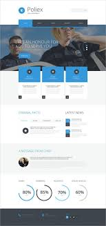 best security services website templates themes premium police department security website template