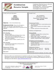 combo resume samples cipanewsletter cover letter combination resume example combination resume