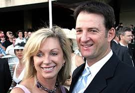 Mark Waugh with his wife Kim Waugh - Mark-Waugh-with-his-wife-Kim-Waugh