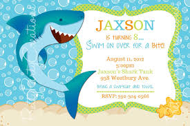 shark birthday invitations templates invitations ideas shark birthday invitations