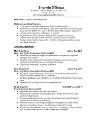 sample resume sle resume for clerical position clerical sample resume examples barista resume objective barista no experience data entry resume points data entry resume objective
