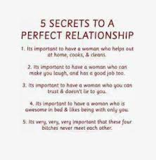 5 secrets to a perfect relationship | Funny Dirty Adult Jokes ... via Relatably.com