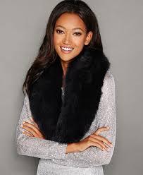 The Fur Vault <b>Fox Fur Collar</b> & Reviews - The Fur Vault - Women ...