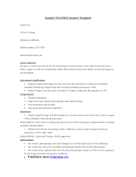 resume teacher templates cipanewsletter teacher resume templates 51 teacher resume