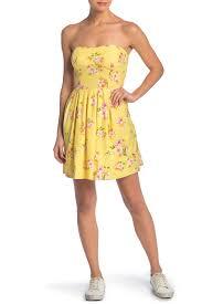 Купить повседневное платье <b>Мини</b>-<b>платье без бретелек</b> с ...