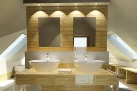 warmlit modern bathroom bathroom recessed lighting bathroom modern
