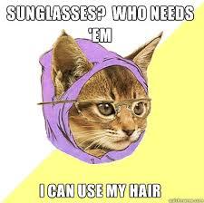 Hipster Kitty memes | quickmeme via Relatably.com