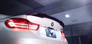 BMW <b>F82 M4</b> EVO Carbon Fiber Deck Lid <b>Spoiler</b> - Black Diamond ...