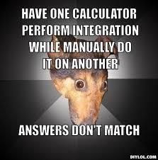 depression-dog-meme-generator-have-one-calculator-perform ... via Relatably.com