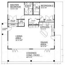 House floor plans  Floor plans and Floors on PinterestSpacious Open Floor Plan House Plans   the Cozy Interior   Small House Design Open Floor