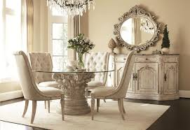 Mirror Dining Room Tables Awesome Best Dining Room Table Ideas Design Glass Top Round Dining