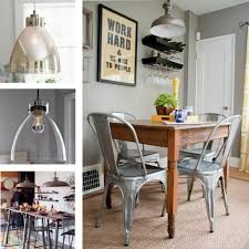Industrial Style Kitchen Table Industrial Lighting Over Kitchen Table Luisquincom
