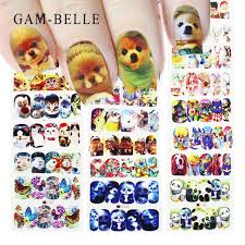 GAM BELLE <b>2019 New</b> 27 Designs Cute Dog Cat Full <b>Water</b> ...