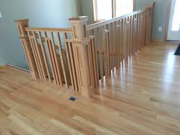 Custom Stair Railing Frank Lloyd Wright Style Railing Mystairways