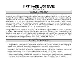 resume for geology graduates   sales   geology   lewesmrsample resume  professional geologist resume geology
