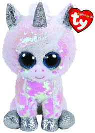 Diamond the White Unicorn Regular ... - Beanie Boos Australia