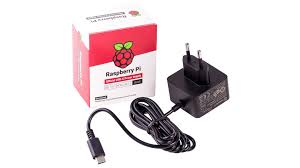 KSA15E051300HX, <b>EU</b>, BLACK Raspberry Pi Charger, <b>5V</b>, <b>3A</b>, USB ...