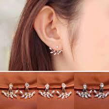 Oorbellen <b>Earing</b> 2018 Fashion Women Three Stud Ear Rings ...