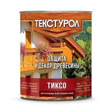 <b>Деревозащитное средство ТЕКСТУРОЛ тиксо</b> 1л Акация в ...