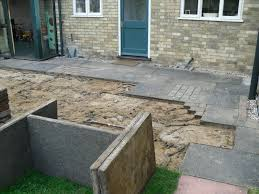 patio slab sets: removing the old patio slabs patio beforejpg removing the old patio slabs
