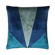 <b>Чехол</b> на <b>подушку</b> из велюра, alzyre <b>тёмно</b>-<b>синий</b> La Redoute ...