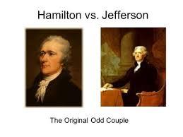 Hamilton vs  Jefferson The Original Odd Couple  Presidential Advisors Hamilton and Jefferson both served SlidePlayer
