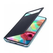 <b>Чехол Samsung S View</b> Wallet Cover A71 чёрный (EF ...