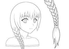 How to Draw <b>Anime</b> & Manga Style Hair <b>Braids</b> - AnimeOutline