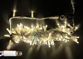 Светодиодные <b>гирлянды</b> Rich LED <b>нить</b> 24В с колпачками IP65