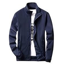 Sunward <b>Men's</b> Sport Jacket <b>Autumn Winter</b> Casual Pure <b>Plus</b> Size ...