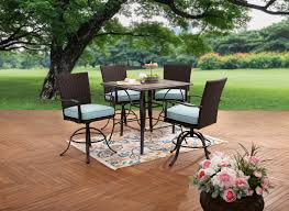 Better Homes and Gardens Piper Ridge <b>5</b>-<b>Piece High</b> Patio Outdoor ...