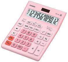 <b>Калькулятор</b> настольный <b>Casio GR</b>-<b>12C</b>-PK цвет розовый ...