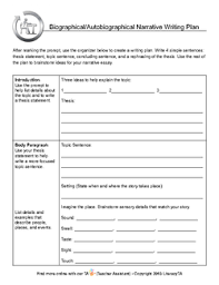 essay scaffold template narrative essay format