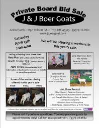 j j boer goats flyers