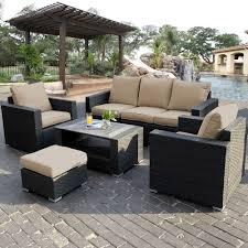 wicker sectional outdoor furniture black black outdoor furniture