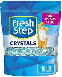 Fresh Step Crystals, Premium Cat Litter, Scented, 16 ... - Amazon.com