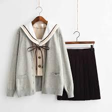 2019 UPHYD Japanese <b>School</b> Uniform Long Sleeve <b>Spring</b> ...