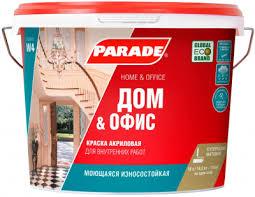 Купить <b>Краску В/Д PARADE</b> W4 база А белая матовая 5л в ...