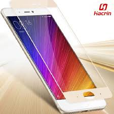 <b>Hacrin</b> For <b>Xiaomi</b> Mi5S Tempered Glass Color Full <b>Cover</b> Screen ...