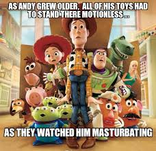 Toy Story Andys growing up | as andy grew older, all of his toys ... via Relatably.com