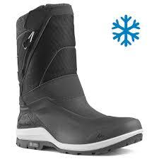 <b>Men's Snow Boots</b> WARM & WATERPROOF SH500 X-WARM - High