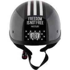 Outlaw T70 DOT Flat <b>Black</b> Half Helmet with Outlaw 50 'Nemesis ...