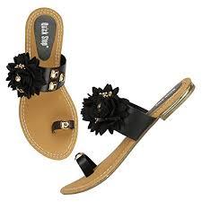 Buy TWINSSTEP Quick Step <b>Fashion Flower</b> Flat Slipper for Women ...