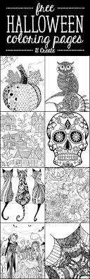 halloween adult coloring pages u create halloween adult coloring pages at u create