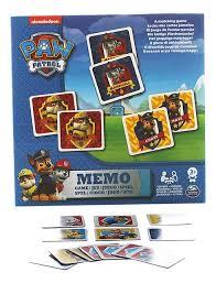 Настольная игра <b>Paw patrol</b> 6033326 <b>Щенячий</b> патруль <b>мемори</b> ...