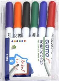 """<b>Набор</b> маркеров для белой <b>доски</b>, <b>6</b> цветов, круглые, средние ..."