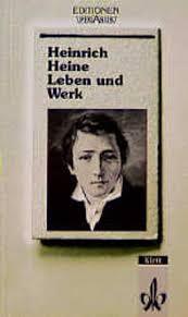 Heinrich Heine, Leben und Werk von Joachim Bark bei LovelyBooks ( - heinrich_heine__leben_und_werk-9783123519901_xxl