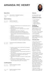 dental hygienist resume samples   visualcv resume samples databasedental hygienist resume samples